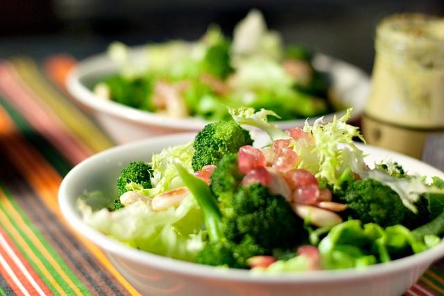 Ensalada de brócoli.